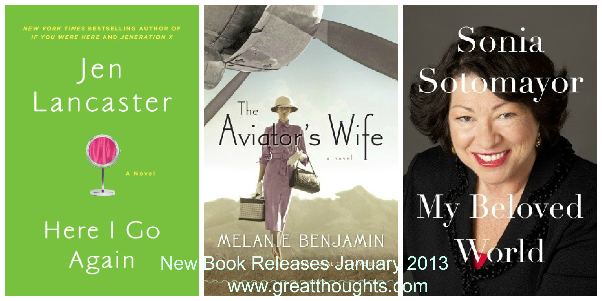 New Book Releases January 2013