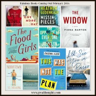 Fiction Books Coming Out February 2016