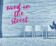 Word on the Street 3/24/17