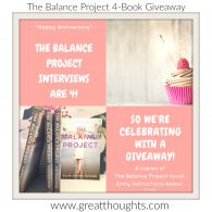 The Balance Project Interview Series' 4-year Anniversary- Giveaway